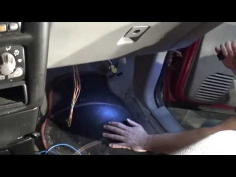 2001 pontiac montana blower motor temporary fix part two - youtube