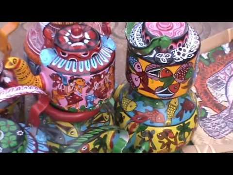 Visit To The Handicraft Fair At Milan Mela Kolkata Youtube