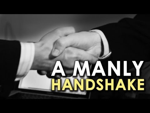 A Manly Handshake | AoM Instructional