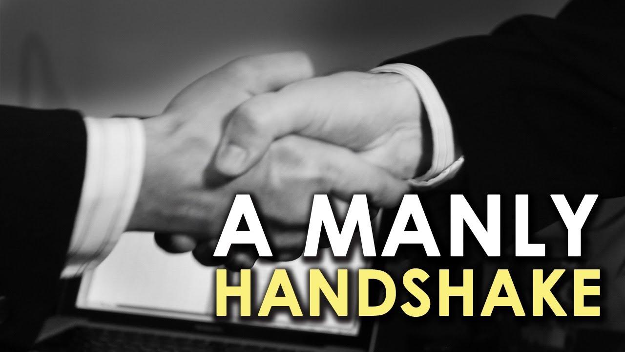 A Manly Handshake | AoM Instructional