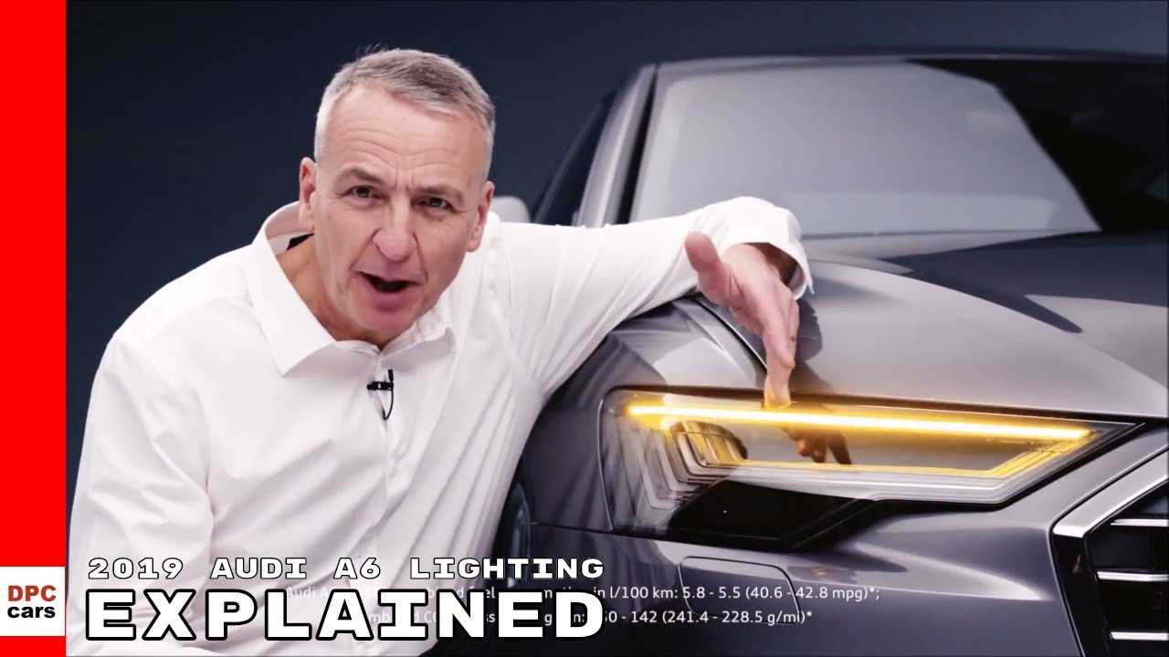 2019 Audi A6 HD Matrix LED Headlights, Taillights, & Interior Lighting Explained