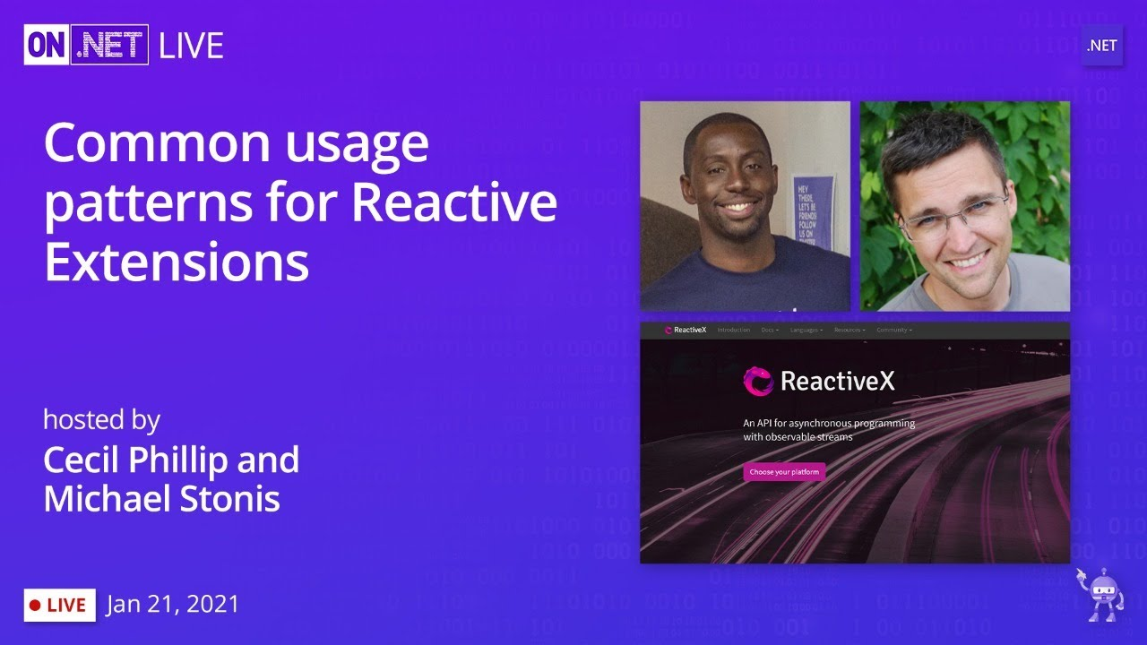 Common Usage Patterns for Reactive Extensions