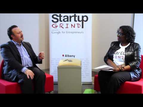 Antonio Civitella (Transfinder) at Startup Grind Albany