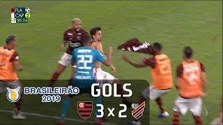 Flamengo 3 x 2 Athletico Paranaense - Brasileirão 2019