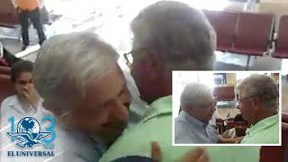 Encuentro de Andrés Manuel López Obrador y Carlos Alazraki