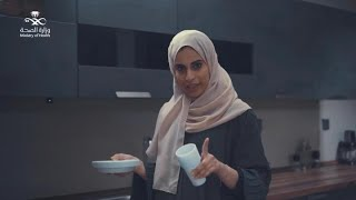 زوجة ياسر اتبعت تعليمات وزارة الصحة للتعامل معه في الحجر المنزلي وتعاملت مع الأزمة.. #أبطال_المجتمع