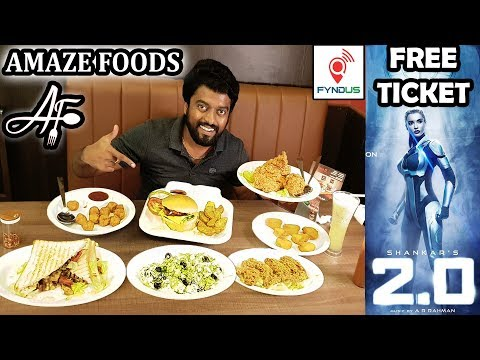 AMAZE Foods   2.0 FREE Movie Tickets   FYNDUS Alacarte UNLIMITED