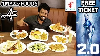 AMAZE Foods | 2.0 FREE Movie Tickets | FYNDUS Alacarte UNLIMITED