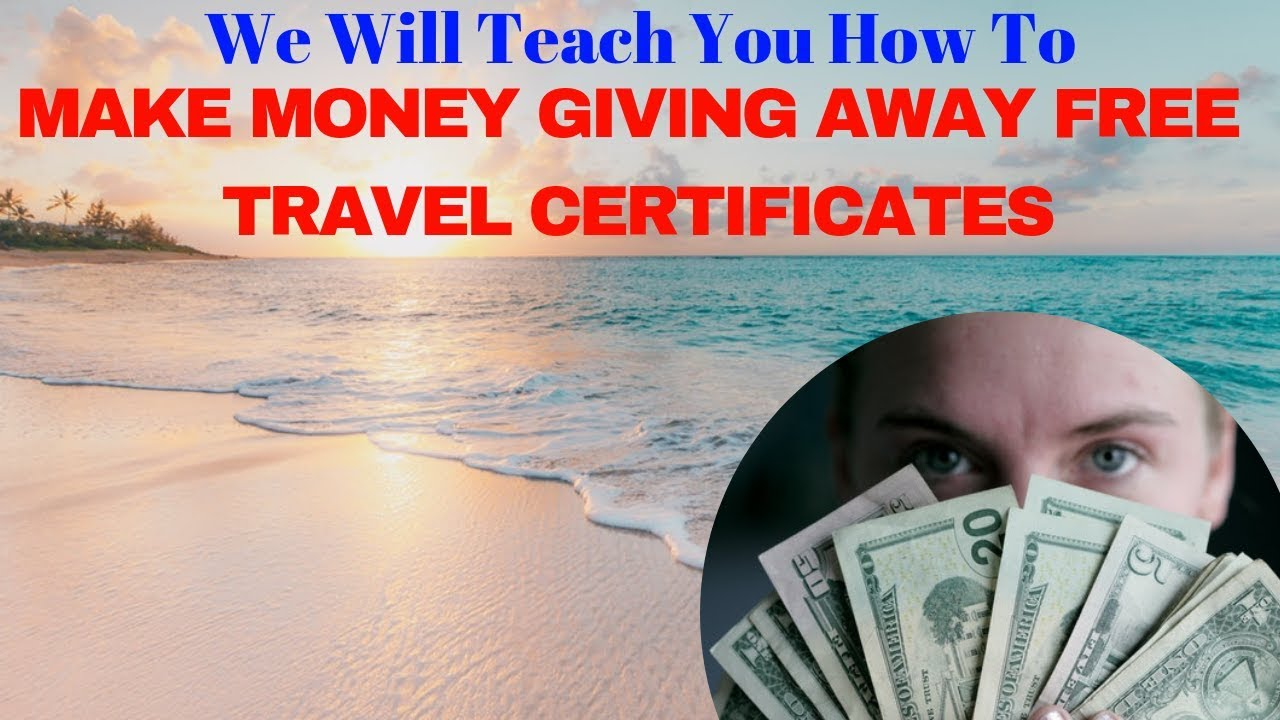 free vacation certificates business opportunity youtube