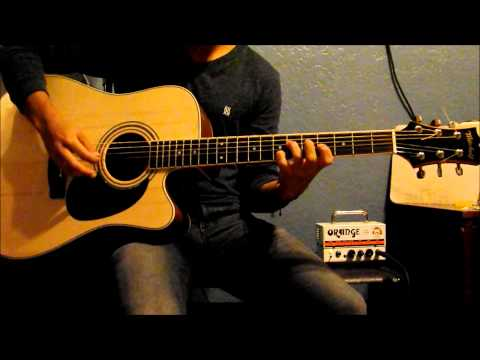 Paramore - Playing God (Acoustic Guitar Cover)