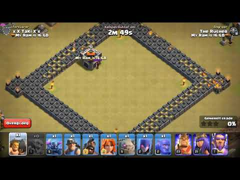 Clash Of Clan Funny Moments 2017 - Clash LOL Funny Montages, Glitches, Trolls #32
