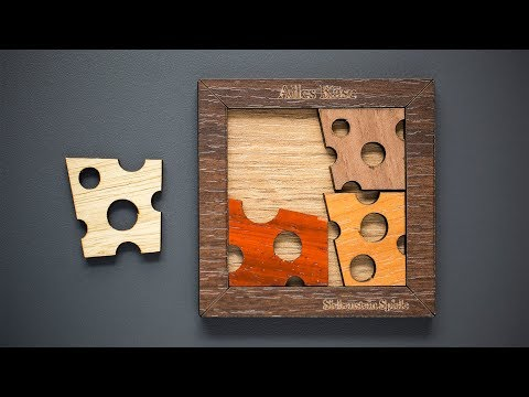 A cheesy puzzle!? Definitely not! - 4 Parts that drive you crazy!
