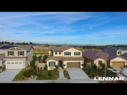 New Lennar homes in Jurupa Valley, California