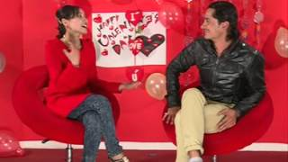 Gaurav Pahari and  Sohit Manandhar on Valentine's Day