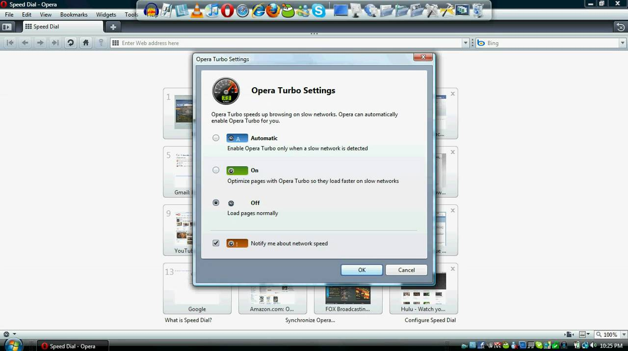 How to turn on Turbo Mode in Opera 10