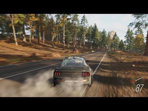 Forza Horizon 4 - 2018 Ford #25 Mustang RTR (Vaughn Gittin Jr) Gameplay [4K] thumbnail