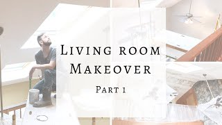 LIVING MAKEOVER | PART 1