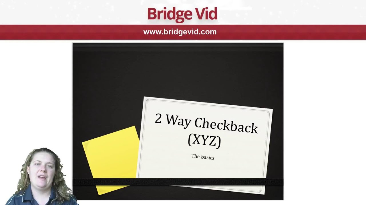 Two-way Checkback