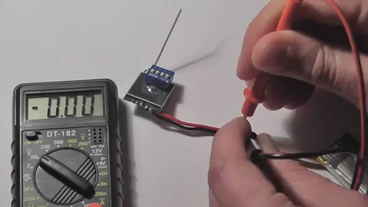 Mini FPV (TX5823 module +XC6206P332MR +mini camera) - YouTube