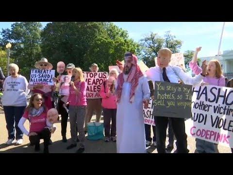 صور خاشقجي أمام البيت الأبيض.. محتجون ينادون بقطع العلاقات مع السعودية …  - نشر قبل 10 دقيقة