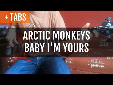 Arctic Monkeys - Baby, I'm Yours (Bass Cover with TABS!)