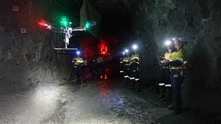Self-Directed Drones Delve Deep Into Mines