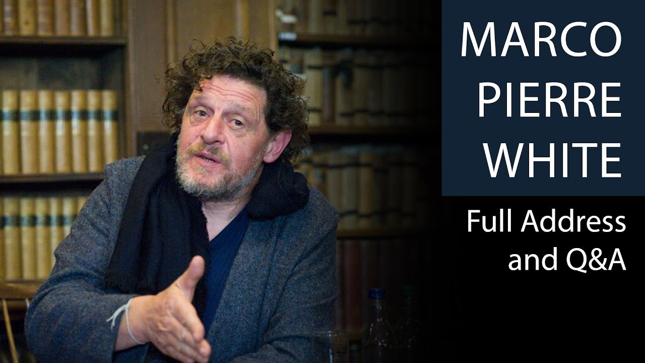 Marco Pierre White   Full Address and Q&A   Oxford Union - YouTube