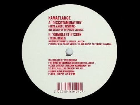 Kamaflarge - Discotamination ( Dave Angel Remix )