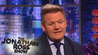 Gordon Ramsay Provided Moral Support To Jamie Oliver | The Jonathan Ross Show