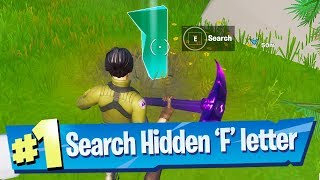 Search hidden 'F' found in the New World Loading Screen - Fortnite Battle Royale