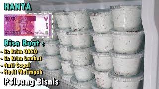 Modal 10.000 Bisa Buat Es Krim Lembut Rasa Oreo Hasil Melimpah - Ide Bisnis Es Krim