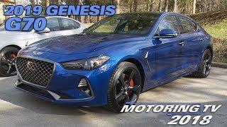 2019 Genesis G70 - Motoring TV
