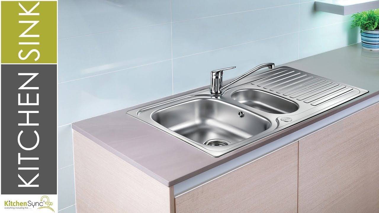 Product Facts: Leisure Linear 1.5 Bowl Sink - YouTube