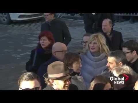 Celine Dion The Last Goodbye To René Angélil Full Ceremony