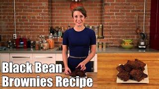 Black Bean Brownies Recipe - Gluten Free