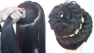 new juda hairstyle for diwali | messy bun | hairstyle for thin hair | latest hairstyle | hairstyle