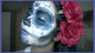 La Catrina - Día de los Muertos Makeup Tutorial (Sugar skull)