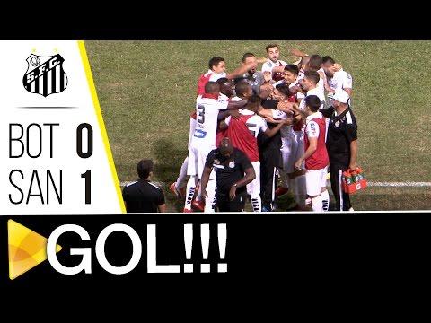 Botafogo 0 x 1 Santos | GOL | Brasileirão (14/09/16)