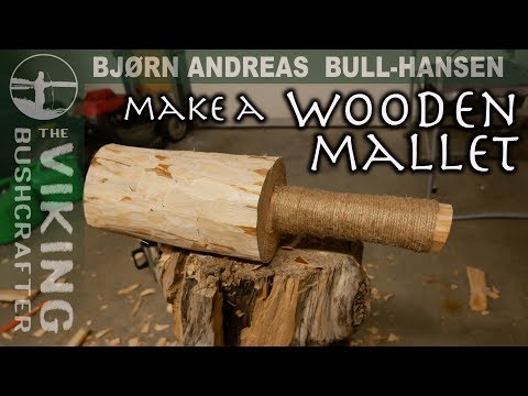 How to Make a Wooden Mallet | Bjørn Andreas Bull-Hansen