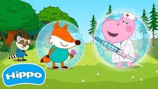 Гиппо 🌼 Скорая помощь: Уколы и Прививки 🌼 Мультики Промо-ролики трейлеры с Гиппо