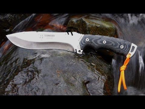 Cudeman 299B Boina Verde A Big Knife for Wilderness Survival