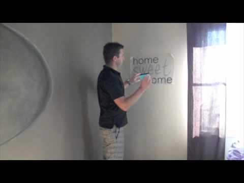 Väggdekor Köket : Hur man monterar en väggdekor av hemmating