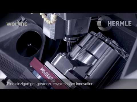 Vero Software GmbH: Automatische 5-Achs-Simultanbearbeitung | Hermle C42 U | CAM-System: WorkNC