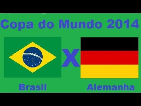 b34a8d3dc7 Brasil 1 x 7 Alemanha - Semifinal Copa do Mundo 2014 Brasil - Jogo completo  Audio TV Band - YouTube