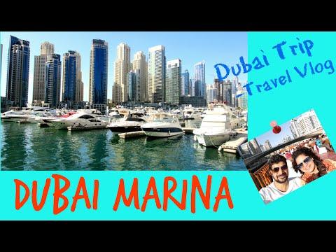 DUBAI MARINA - Dubai Trip|Travel Vlog|The Vlogging Couple|