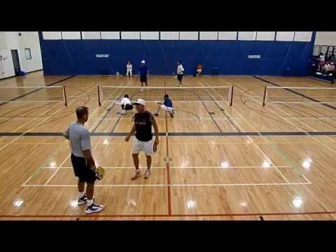 Valenti Sports Pickleball MENS OPEN DOUBLES FINAL Canadian National Championship 2015 1 0f 2