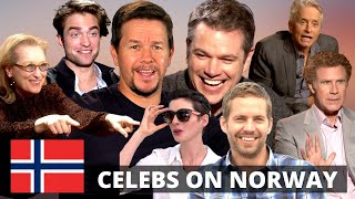 NORWAY | What Hollywood STARS Really Think About Norwegians