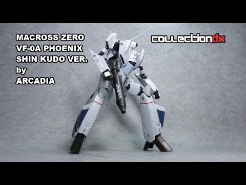 Macross Zero Perfect Transformation VF-0A Phoenix Shin Kudo Ver. review - CollectionDX