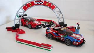 Lego Speed Champions Ferrari Ultimate Garage 75889. Unboxing, speedbuilding and showroom.