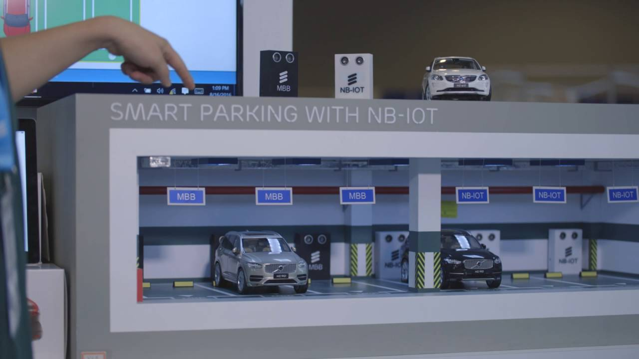 Nb Iot Smart Parking Youtube